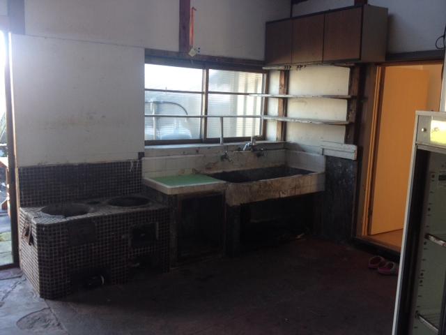 土間の台所室